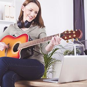 učenje igranje kitare