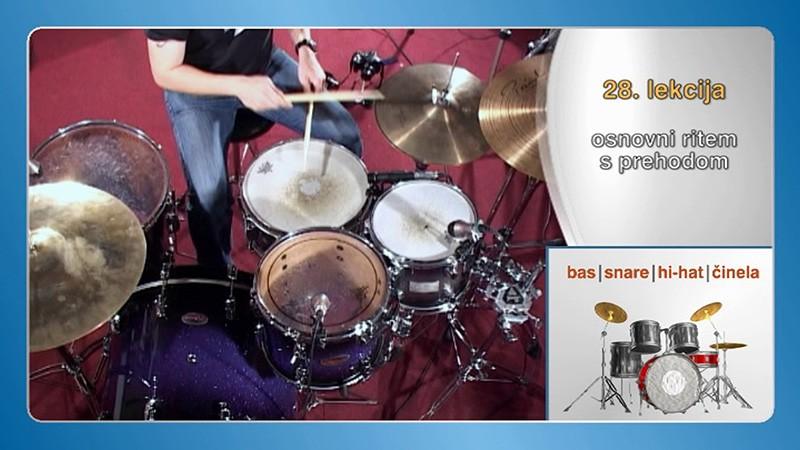 učenje bobnov na daljavo