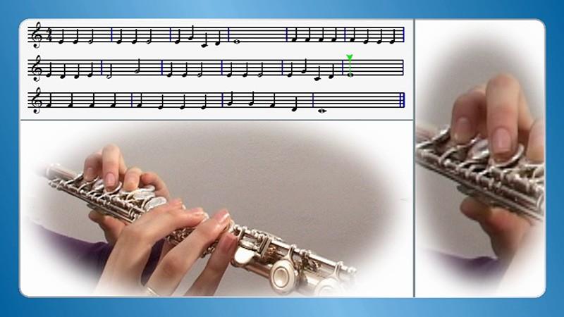 učenje prečne flavte na daljavo