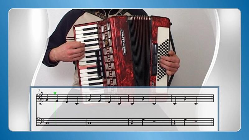 učenje klavirske harmonike
