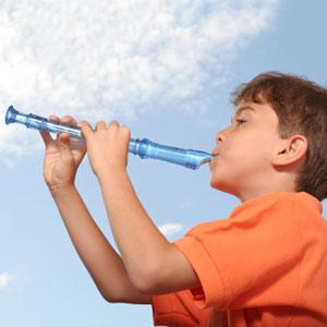 fant igra kljunasto blok flavto