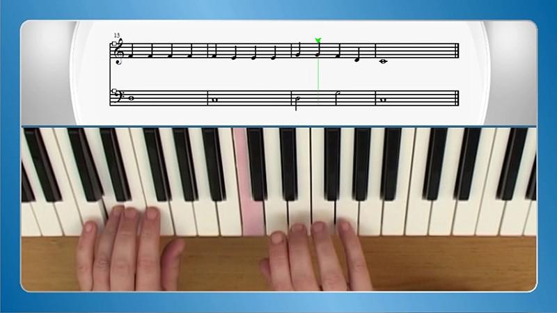 učenje klavirja