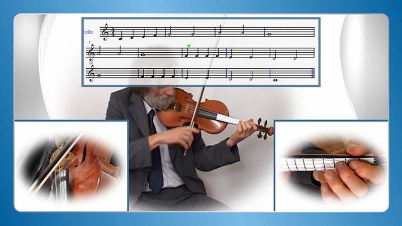 učenje violine doma