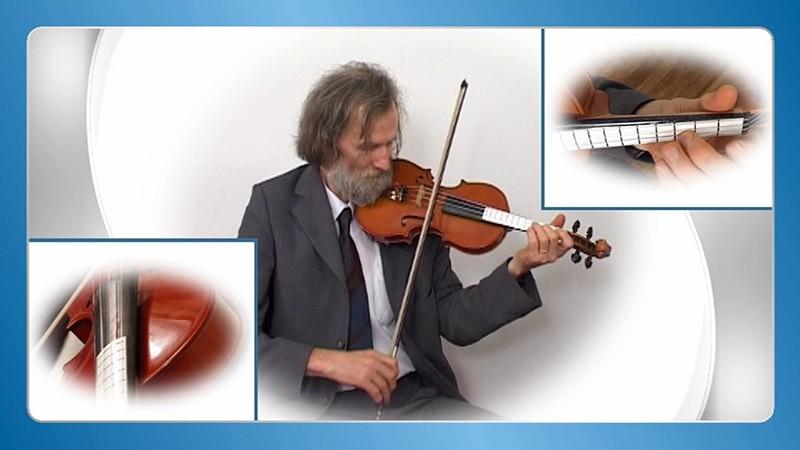 učenje violine na domu