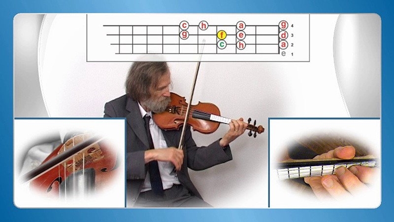 učenje violine na daljavo